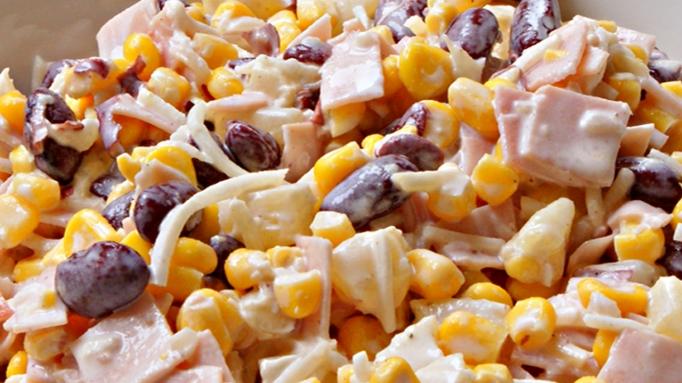 Salatka Z Czerwona Fasola I Ananasem Smaczne Przepisy Tv